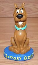 """Warner Brothers 1999 Scooby-Doo 5 1/2"""" Inch Tall Blue Resin Bobble Head *READ*"""