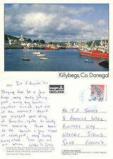 1994 THE HARBOUR KILLYBEGA COUNTY DONEGAL IRELAND COLOUR POSTCARD