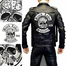 Black Label Society Large Embroidered Punk Biker Patches Clothes Sticker Apparel