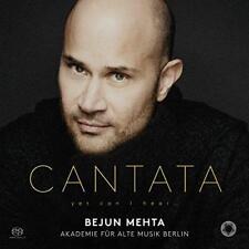 Bejun Mehta - Cantata - Yet Can I Hear... Handel, Vivaldi, And Bach (NEW SACD)