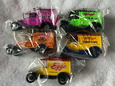 Set of 5 Vintage Matchbox Cars 1989 Kelloggs Diecast Trucks .New.