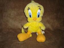 """1997 Warner Bros. Looney Tunes Tweety Bird  Plush Backpack 12"""" Jaclyn Inc."""