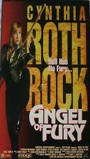 Angel of Fury (VHS, 1994, Promotional Screening Copy) Cynthia Rothrock