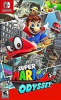 Super Mario Odyssey - Nintendo Switch BRAND NEW SEALED