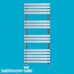 Square Bathroom Radiator (H1162 x W500) - Chrome | RRP: £369