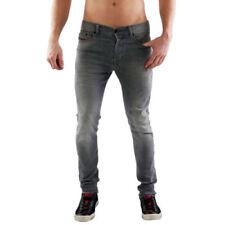 Jeans da uomo grigie regolare Diesel