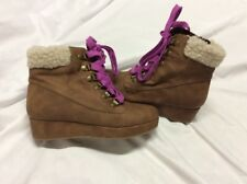 Stride Rite Mira  Boots Brown Size 13 Youth