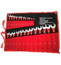 Neilsen Quality Pro Dipped Combination Spanner Set Metric 6mm - 32mm in Tool Roll