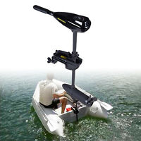 12V 58LBS Electric Trolling Motor Outboard Engine Rubber Inflatable/Fishing Boat