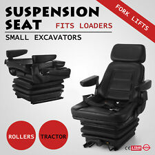 Suspension Seat Excavator Forklift Wheel Loader Dozer Backhoe Tractor #lk