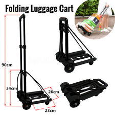 170LB Portable Folding Cart Hand Push Truck Dolly Collapsible Trolley Luggage US