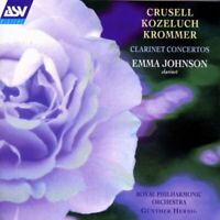 Krommer : Emma Johnson plays Clarinet Concertos CD Expertly Refurbished Product