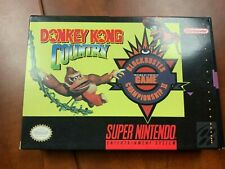 Donkey Kong Country Competition Retrozone RetroUSB NTSC SNES in Box Game USA