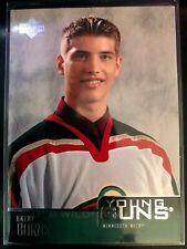 2003-04 Upper Deck Young Guns Brent Burns Card #221 Minnesota Wild Rookie