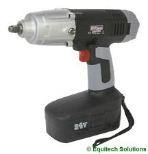 "Sealey Tools CP2450 24V 1/2"" Cordless Impact Wrench Gun Nut Runner 410LB Torque"