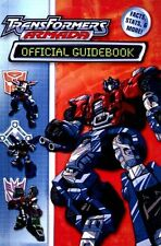 TRANSFORMERS ARMADA OFFICIAL GUIDE BOOK FACTS STATS HASBRO ALIEN ROBOTS AUTOBOTS