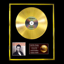 STEVE WINWOOD ROLL WITH IT CD  GOLD DISC VINYL LP FREE SHIPPING TO U.K.