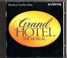 GRAND HOTEL- The Musical, Broadway Cast Recording CD 1992 Karen Akers etc