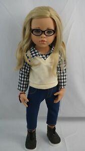 """Gotz happy kidz Sophia doll blond hair and blue eyes 19"""""""
