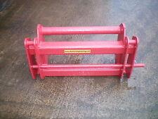 Manitou to lift Kramer interchanger adapter plate telehandler loader