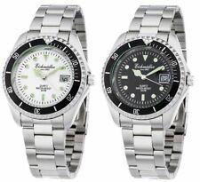Eichmüller Taucheruhr Armbanduhr Taucher Uhr Look Herren Datum Leuchtzeiger 40mm