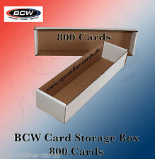 BCW - 800 Card Storage Box - Kartenaufbewahrung - Yu-Gi-Oh!, Pokemon, Magic