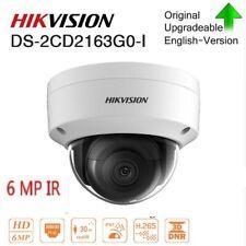 Hikvision H.265+ 6MP IR Cámara Domo red DS-2CD2163G0-I ranura para tarjeta IP67 Onvif