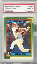 1990 Topps Tiffany Sammy Sosa ROOKIE PSA 9 MINT #692 Chicago White Sox Cubs RARE