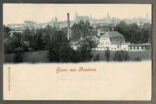 AK GRUSS AUS BAUTZEN, gelaufen 1900