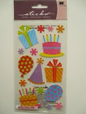 STICKO STICKERS  - Fun Party & Balloons - birthday cakes