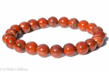 Bracelet jaspe rouge (boules 8mm)