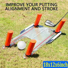 Golf Swing Training Aid Practice Tool with Trap Base and 4 Foam Rods