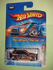 HOT WHEELS 2005 #089  Ford Escort  HOT WHEELS RACING 4/5  1:64 SCALE