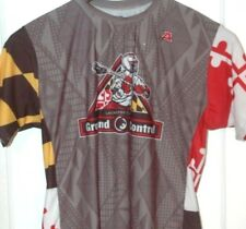 GROUND CONTROL LACROSSE CLUB SHIRT/JERSEY Rare MARYLAND FLAG Team LAX Baltimore