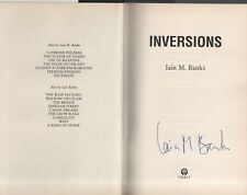"IAIN M. BANKS (Signed) - ""INVERSIONS"" - FIRST EDITION - HB/DW - ORBIT (1998)"