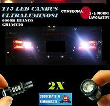 HYUNDAI IX35 6000K LAMPADE RETROMARCIA A LED T15 W16W CANBUS NO ERROR