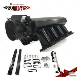 ▲102mm Intake Manifold for GM Cathedral Style LS1 LS2 LS6 4.8/5.3/5.7/6.0 Heads