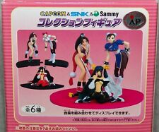 Capcom & SNK & Sammy Collection Figures Chun-Li & Mai Shiranui & Dizzy Complete