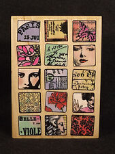Rubber Stamp Hampton Art 4557 Paris Moments Unused Cards Crafts Scrapbook France