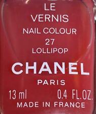 chanel nail polish 27 LOLLYPOP rare limited edition VINTAGE