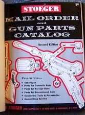 Stoeger Sales Catalog Guns Ammo Pistols Shotguns Deluxe Shooter's Bible Arms