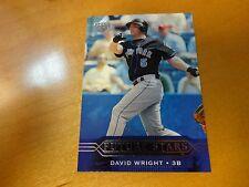 2005 Upper Deck Future Stars David Wright Rookie Card #217