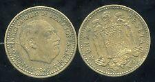 ESPAGNE  1 pesetas 1947       (53)