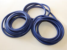 Silicone Vacuum Hose Kit - 10mm 13mm 4mm - 15ft of each - 3 strands - Blue