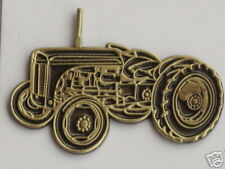 50027 GREY FERGIE TRACTOR BRASS PIN - UNIQUE ITEM!