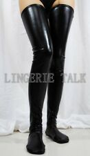 Extra Long Version Spandex With Latex Stockings Party Clubwear Fancy Ball H704B