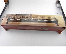 """NEW ELEMENTS METAL 7 GLASS TEA LIGHT CANDLES HOLDER CENTERPIECE 18"""" 45.7 cm"""