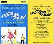 THE SOUND OF MUSIC  - MOVIE SOUNDTRACK CASSETTE (RCA 2005-4-R)
