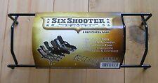 6 Gun Pistol Rack Holds 6 Pistols, Handguns - Fits Most All Sizes Made in USA