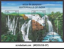 INDIA - 2003 WATERFALLS OF INDIA - MINIATURE SHEET - FDI